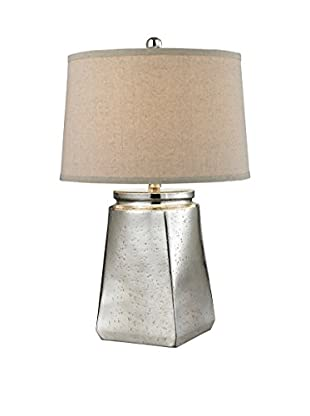 Artistic Lighting Table Lamp, Silver Mercury