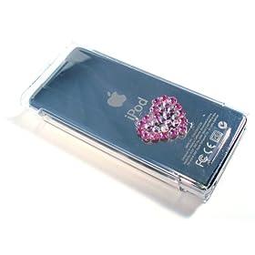 Amazon.co.jp限定 クリスタルジャケット for iPod nano w/スワロフスキー AZSW-001