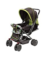 LuvLap Sunshine Baby Stroller Light Green - GREEN, F
