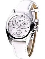Tissot White Leather Women Analog Watch T0082171611100