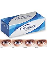 Freshlook Color Contact Lenses (2 Lenses/Box) Sapphire Blue Monthly