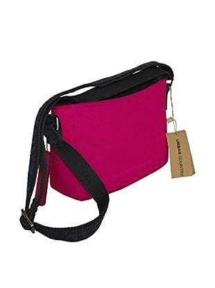 Urban Country Umhängetasche Zip Top Bag kirschrot