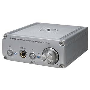 audio-technica D/Aコンバーター(24bit/192kHz対応)内蔵ヘッドホンアンプ AT-HA26D