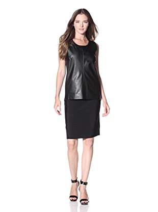 Calvin Klein Women's Sleeveless Sweater (Black)