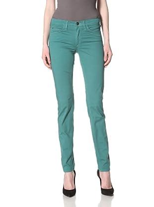 Milk Denim Women's Skinny Jean (Emerald Green)