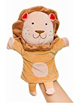 Plush Animal Hand Puppets Funny Toys For Kids, Lion