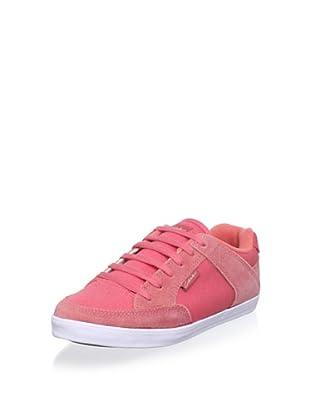 C1RCA Women's 205 Vulc Slim Sneaker (Rose)