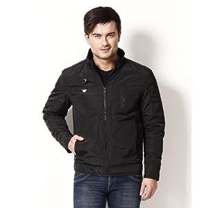 Canary London Black Plain Men Jacket CLJK 0710