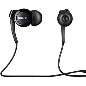 Sony MH-EX300AP Stereo Headset - Original OEM - Non-Retail Packaging - Black