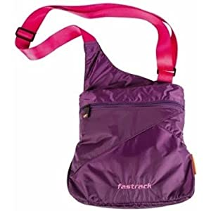 Fastrack  Sling Bag (Purple)