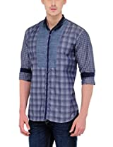 Yepme Men's Checks Multi-Coloured Cotton Shirt- YPMSHRT0442_40