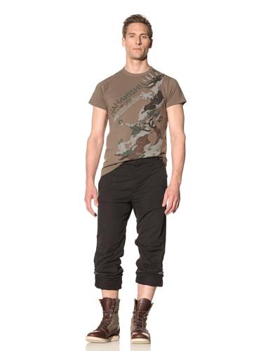 Maharishi Men's Skull Appliqué Snow Pants (Black)