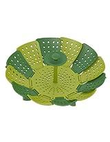 Joseph Joseph Lotus Non-Scratch Plastic Steamer Basket, Green