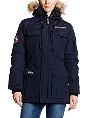 Geographical Norway Mantel Parka Lady Navy