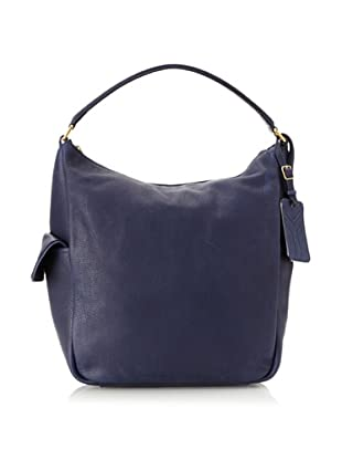 Yves Saint Laurent Women's Soft Leather Tote, Navy