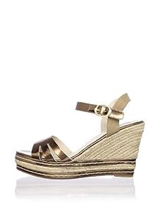 Kelsi Dagger Women's Margo Espadrille Wedge Sandal (Bronze/Cognac)
