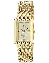 Titan Regalia Analog Gold Dial Men's Watch N1927YM05