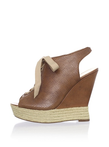 Luxury Rebel Women's Carlos Wedge Sandal (Tan)