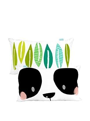 MOSHI MOSHI Funda De Cojín Panda Garden