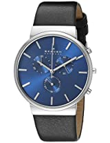 Skagen Analog Blue Dial Men's Watch - SKW6105