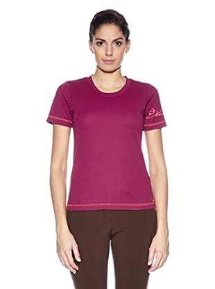 Northland Professional T-Shirt Cooldry Bea Ls (Bordeaux)