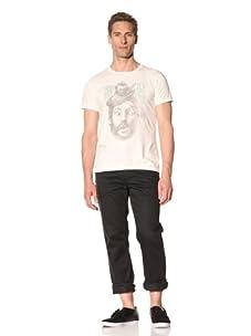 Tee Library Men's Robin vs. William Crew Neck T-Shirt (White)