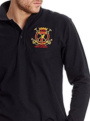 Polo Club Poloshirt Regular Fit Ml Escudo &
