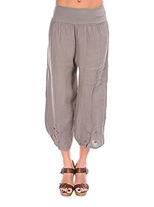 100% lino Pantalone Lola