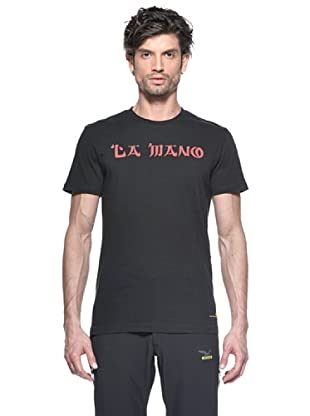 Salewa Camiseta Temple Lion Co M (Negro)