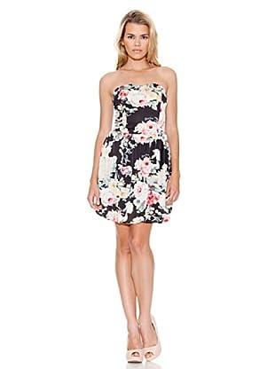 Guess Vestido Anca (Negro / Rosa)