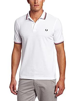 FRED PERRY Polo Blanco 2XL
