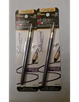 L Oreal Paris Infallible Never Fail Silky Pencil Eyeliner Pure Purple # 240 (Pack Of 2)