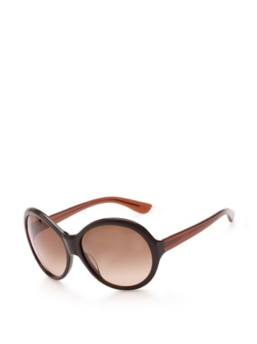 Theory Women's TH2135 Sunglasses (Chocolate/Carbon)
