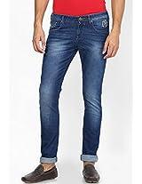 Blue Skinny Fit Jeans(Vegas) Wrangler