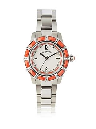 Valentino Women's V54SBQ99701 S099 Eden Silver/Coral Stainless Steel Watch