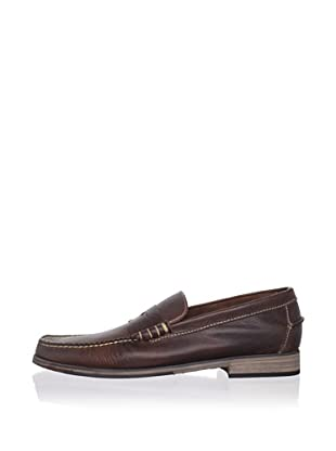 J Artola Men's Lennon Loafer (Dark Brown)