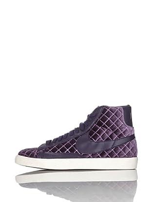 Nike Zapatillas Wmns Blazer Mid Textile (Violeta)