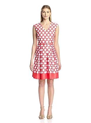 Sandra Darren Fit and Flare Dress