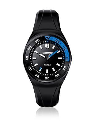 K&BROS Reloj 9475 (Negro / Azul)
