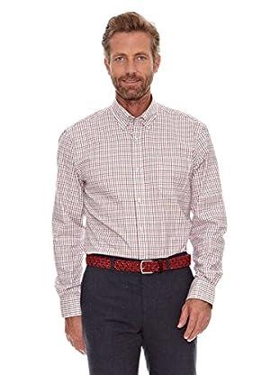 Cortefiel Camisa Tattenhall (Rojo)