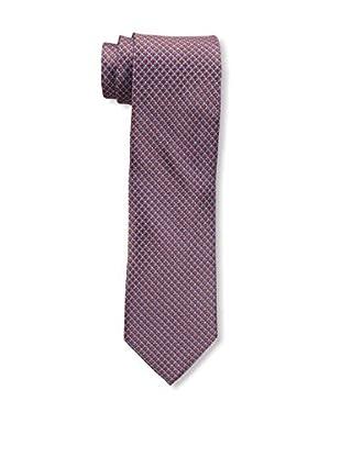 Bruno Piattelli Men's Microneat Silk Tie, Orange