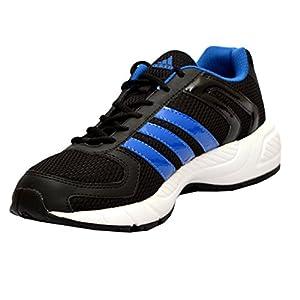adidas Men's Black and Blue Mesh Running Shoes (B08316) - 10UK/India (44.7EU)