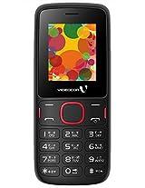 Videocon V1393 Wireless FM Radio with Recording (Black)