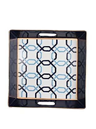 Jayes Square Tray, Blue