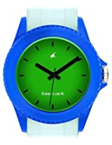 Fastrack Tees Analog Green Dial Unisex Watch - ND9911PP12J