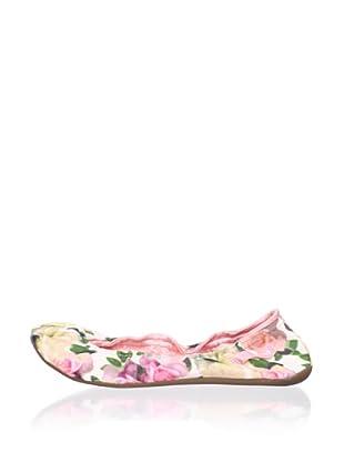 Ballasox by Corso Como Women's Prince Ballet Flat (Floral Fabric)