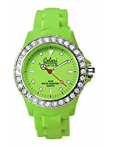 Colori Analog Green Dial Women's Watch - 5-COL112