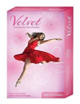 Velvet Condoms for Women, Unflavored 3 piece(s)/pack