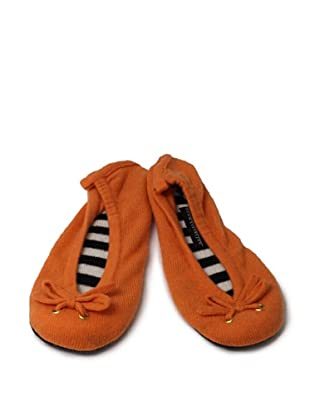 Sofia Cashmere Ballet Slipper (Tangerine)