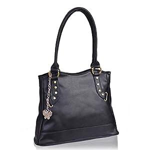 Butterflies Elegant Design Hand Bag (Brown)_BNS 0165